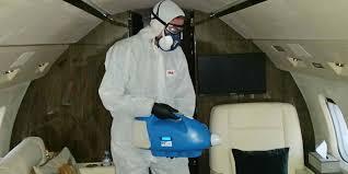 dezinfectie cu U.L.V.